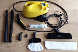 Kärcher SC3 Boden-Dampfreiniger Test