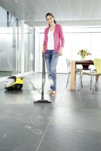 Schmutz mit Dampfreiniger ohne Chemie schnell entfernen!